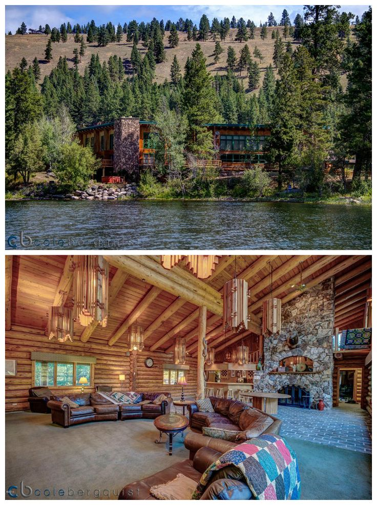 Island Cabin in Seeley Lake, Montana