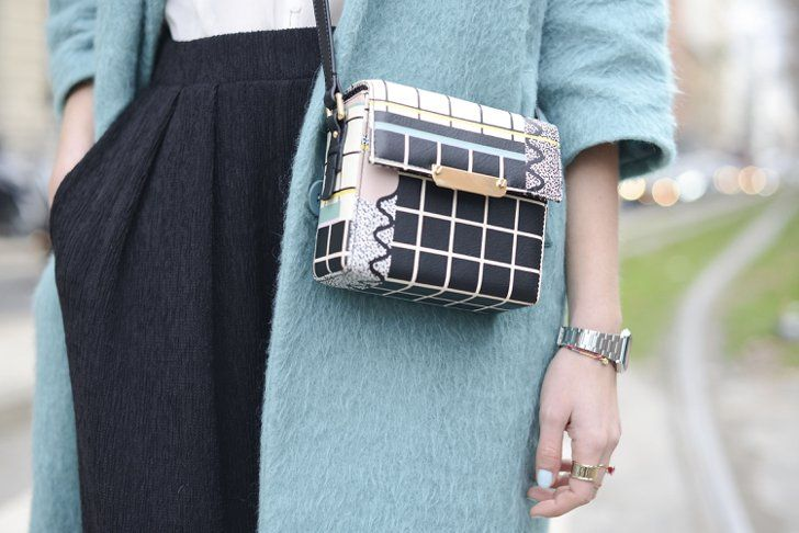 Pin for Later: Everyone Saved the Best Accessories For Last at MFW MFW Day One And Other Stories bag