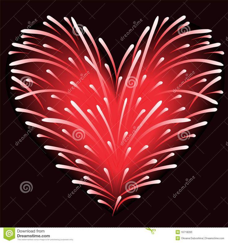 Coeur De Feux D'artifice Photographie stock - Image: 28442722                                                                                                                                                                                 Plus