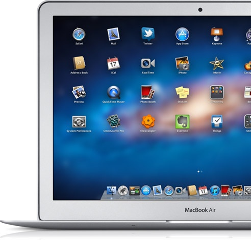 "The late 2011 13"" Apple MacBook Air"