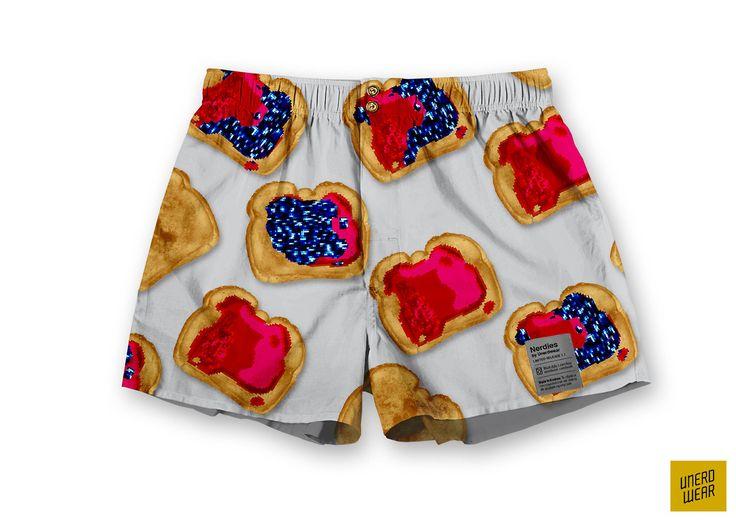"Unerdwear Nerdies ""Pixel Jam"" #underwear #boxers #underwear"