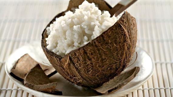 Кокосовый рис  . Пошаговый рецепт с фото, удобный поиск рецептов на Gastronom.ru
