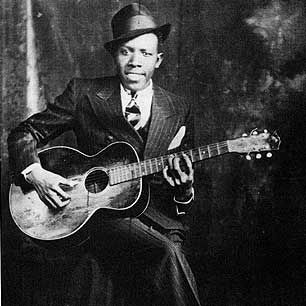"#RobertJohnson #GuitarGods #MusicalGenius ""Johnson is the undisputed king of the Mississippi Delta blues singers and one of the most original and influential voices in American music. He was a virtuoso player whose spiritual descendants include Eric Clapton, Keith Richards and Jack White....""  Read more: http://www.rollingstone.com/music/lists/100-greatest-guitarists-of-all-time-19691231/robert-johnson-20101202#ixzz2X9dgEBfv  Follow us: @Rolling Stone on Twitter 