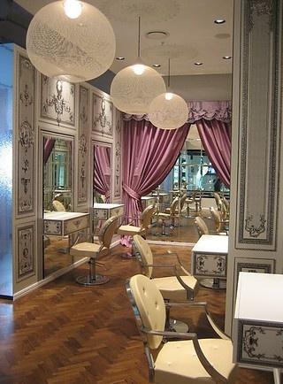 vintage salon. classy.