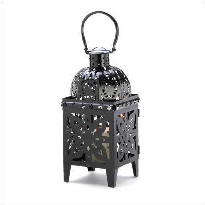 fairy lights candle holder: Gloss Midnight Black, Midnight Black Finish, High Gloss, Metals Candles, Medallions Candles, Candles Cage, Black Medallions, Medallions Lanterns, Candles Lanterns
