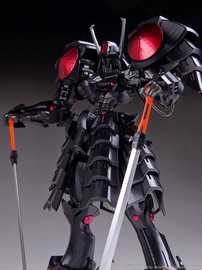 Painted Build: VOLKS 1/144 Batsh the Black Knight - Gundam Kits Collection News and Reviews