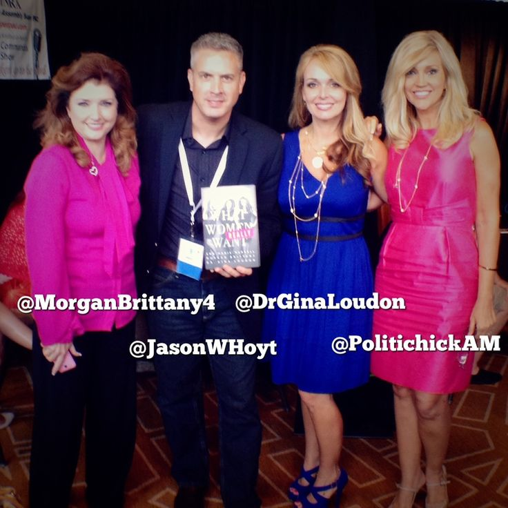 What Women Really Want - Interview with @ThePolitiChicks Ann-Marie Murrell, Morgan Brittany and Dr. Gina Loudon — by @JasonWHoyt  On Friday, August 29th, 2014 at AFP's Defending The Dream Summit in Dallas, TX, I had the honor of spending a few minutes with the authors of the new book, What Women Really Want.  See more at: http://www.jasonwhoyt.com/blog/2014/9/10/what-women-really-want-interview-with-ann-marie-murrell-morgan-brittany-and-dr-gina-loudon#sthash.7M3QwnWG.dpuf
