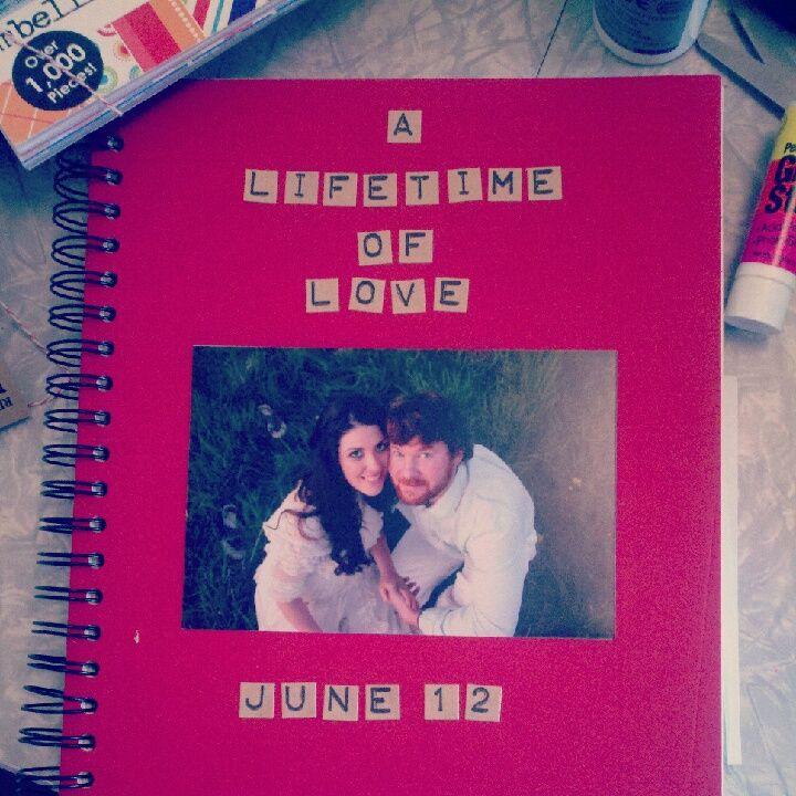 how to make a scrapbook album for my boyfriend