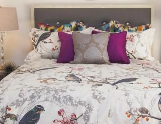 Elizabeth Ivory Duvet Cover Available in 4 Sizes