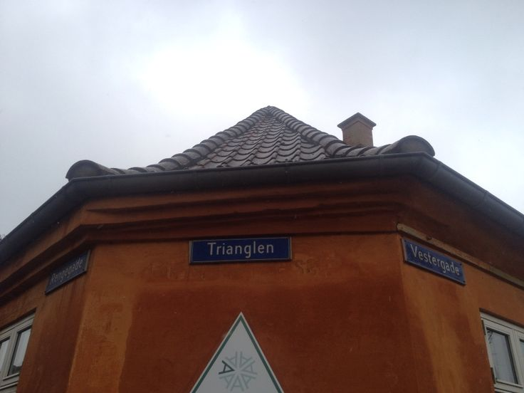 Danmarks korteste gade i Store Heddinge