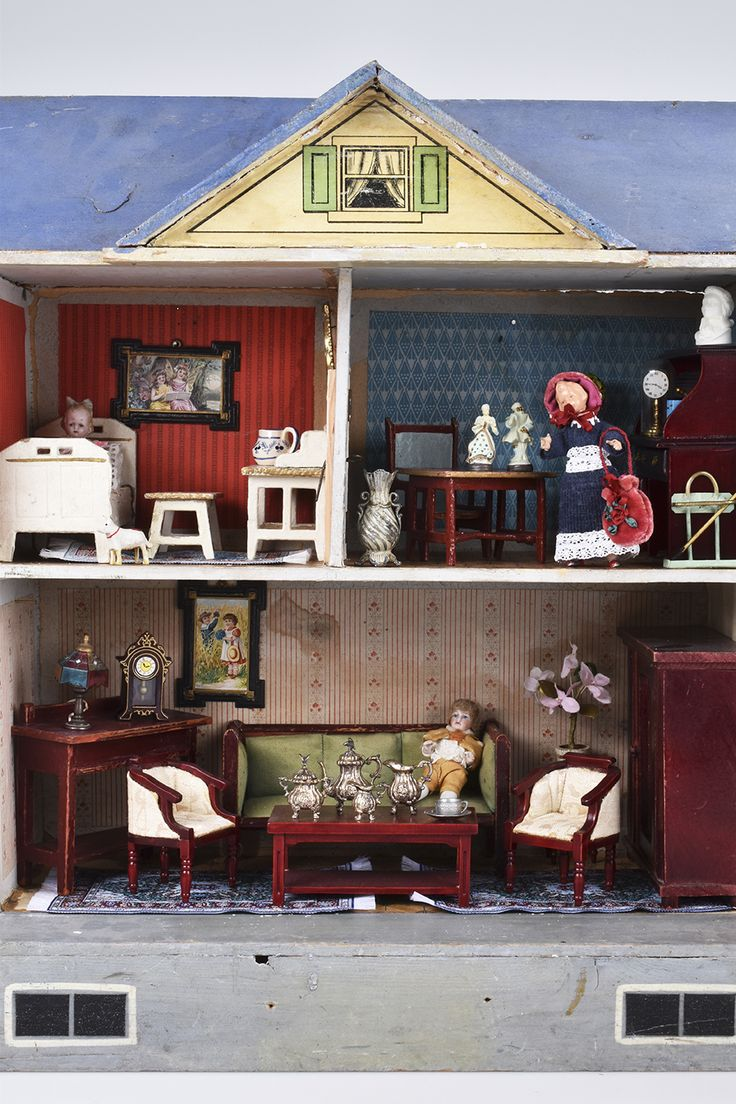 wohnzimmermobel jugendstil : 262 Best Gottschalk Dollhouse Images On Pinterest Doll Houses
