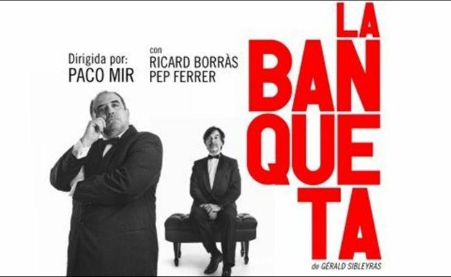 Madrid es tuyo y el Teatro Galileo te recomiendan la obraLa banqueta.Risas a carcajadas en esta comedia dirigida por Paco Mir e interpretada por dos grandes actores cómicos, Ricard Borràs y Pep Ferrer