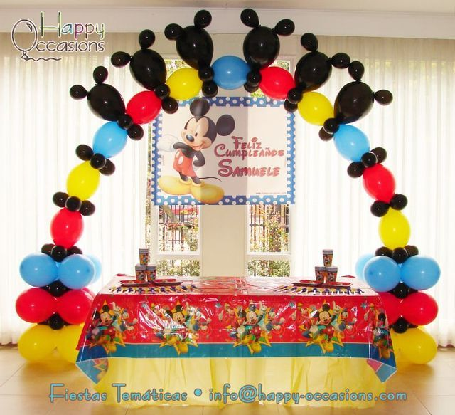 17 Best Ideas About Mickey Mouse Balloons On Pinterest  sc 1 st  Elitflat & Mickey Mouse Balloon Decoration Ideas - Elitflat