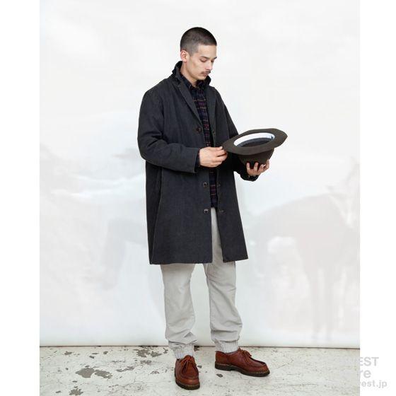 CHESTER FIELD COAT/ H/C JAZZ LEFT GABARDINE - GOWEST GOHEMP Official Online Store