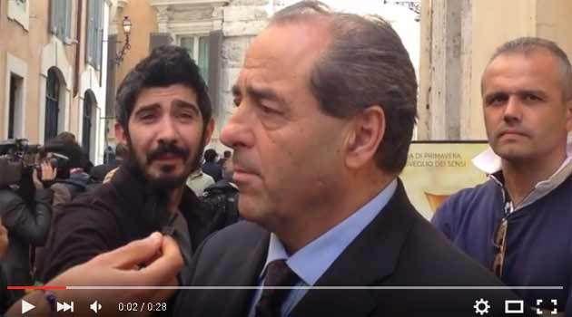 #CiaoGianroberto: Le parole di Di Pietro, dopo la morte dell'amico Casaleggio