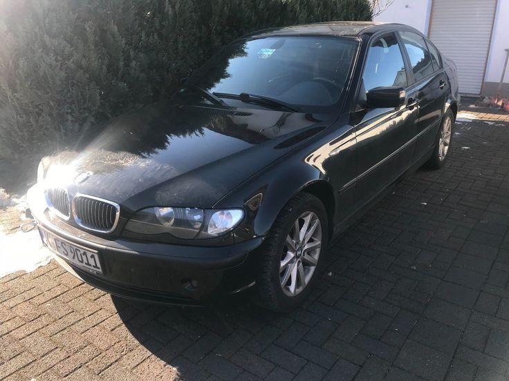 BMW 318i Limousine Top gepflegt - Motorschaden - Defekt - Sonderaustattung 2004