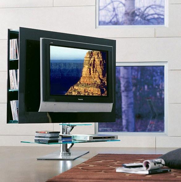 italian modern palco swiveling tv stand by cattelan italia good design