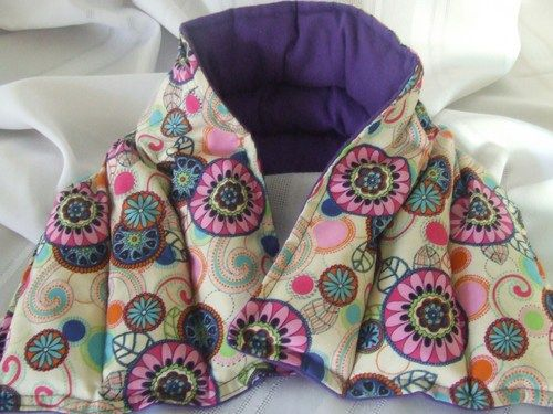 Microwave Heating Pad Large Neck And Shoulder Wrap