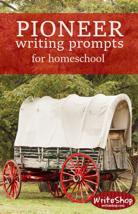 Writing a pioneer journal for kids