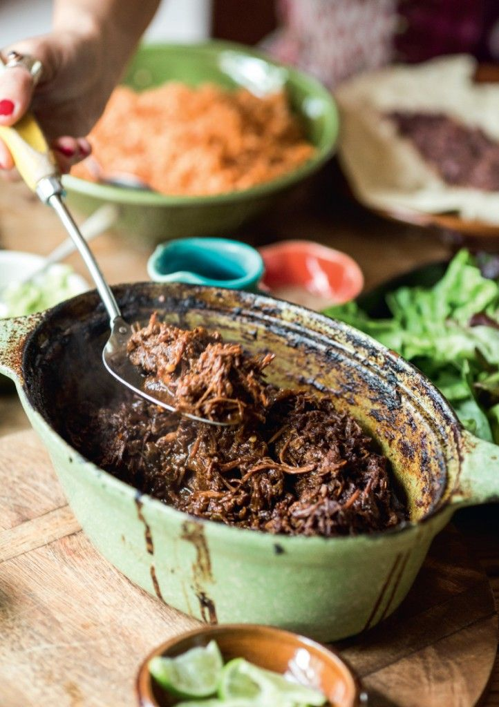 Cook With Me by Aaron Brunet review by Janine - how good does this Chilli Beef look!!!