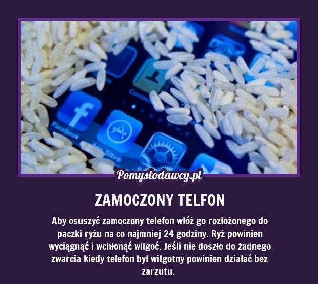 PROSTY TRIK NA URATOWANIE ZAMOCZONEGO TELEFONU!