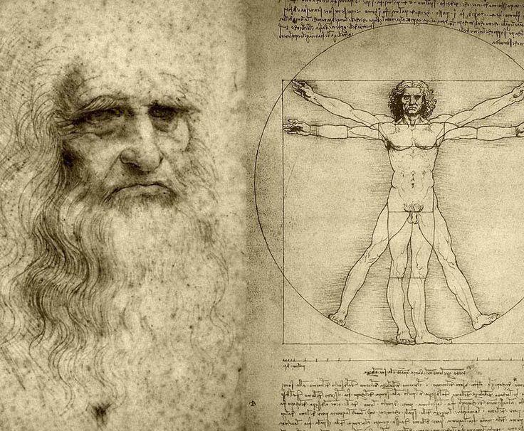 Homem Vitruviano - Da Vinci