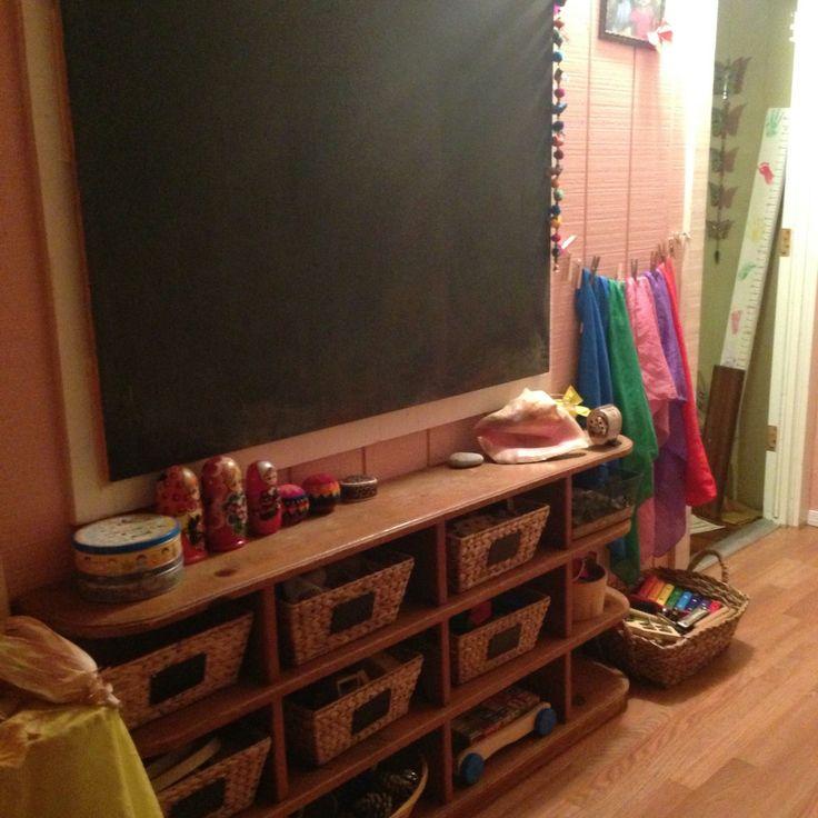 Minimalist Homeschool Room: 25+ Best Ideas About Waldorf Playroom On Pinterest