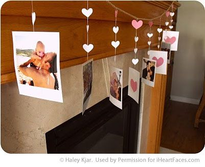Valentines Photo Craft Ideas via iHeartFaces.com