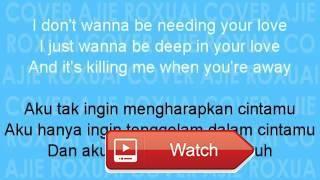 Ajie Roxuai cover Sugar Maroon terjemahan lirik bahasa indonesia accoustic  Saya membuat video ini dengan Editor Video YouTube Ajie Roxuai cover Sugar Maroon terjemahan lirik bahasa indonesia