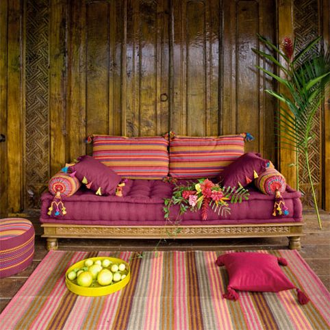 Cómo dar un 'toque' étnico a la decoración # A touch 0f #Ethnic to your home space @ Muebles NOMAD