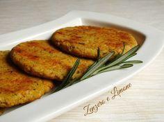 Hamburger di ceci - ricetta semplice