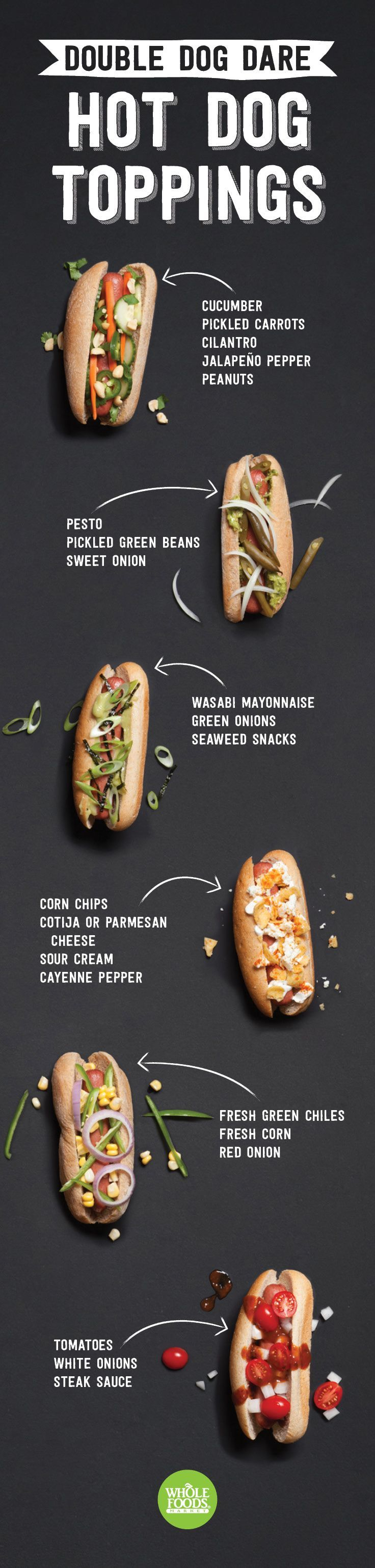 See more HERE: https://www.sunfrog.com/Make-Everyday-Earth-Day.html?53507  Seems super appropriate for National Hot Dog Day, right?! If you're trying to come up with a killer recipe and/or delicious and new ways to top your dogs, look no further. We've got inspirations from Thai food, German, Latin, Japanese, and all sorts of other global flavors!