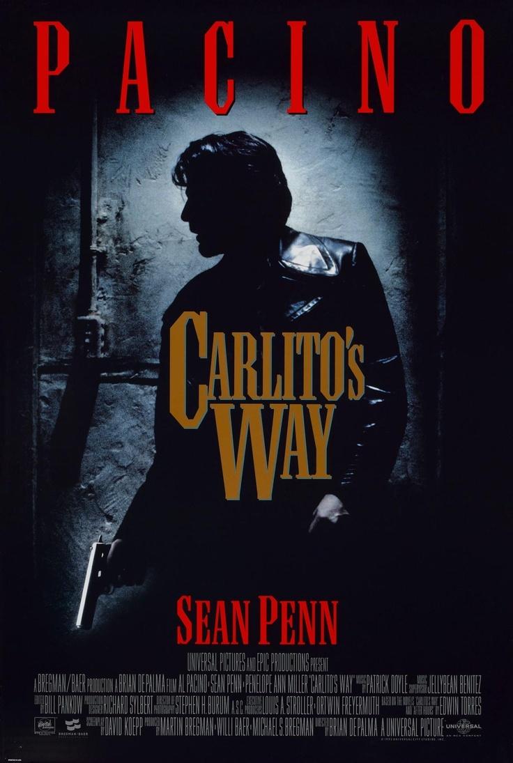 Carlito's Way (1993). Dir. Brian De Palma.  Al Pacino, Sean Penn.