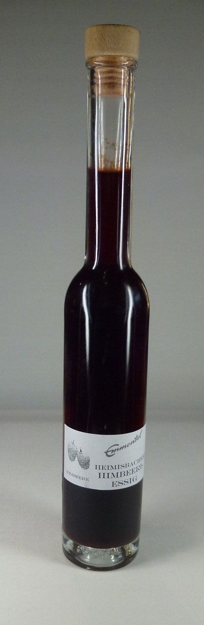 HEIMISBACHER HIMBEERI-ESSIG Himbeer-Essig aus dem Emmental, mit Essigmutter natürlich hergestellt