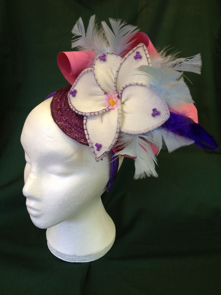 Millinery by the TY students of Saint Louis High School in Rathmines