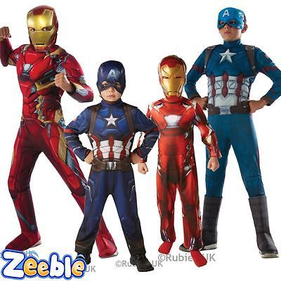Kids #captain america or iron man #costume civil war boys superhero fancy #dress ,  View more on the LINK: 	http://www.zeppy.io/product/gb/2/391403419135/