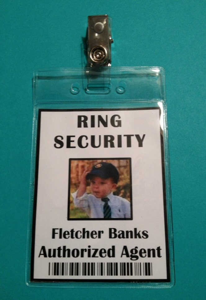ring security id badge secret agent alternative gift for ring