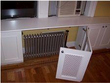 radiator cover idea for kitchen