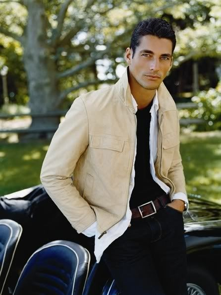 David Gandy... men's fashion