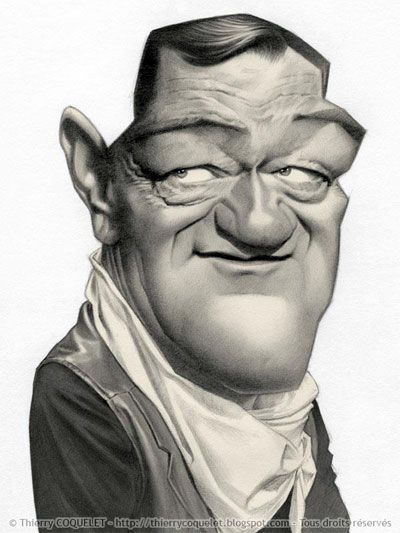 John Wayne by Thierry Coquelet