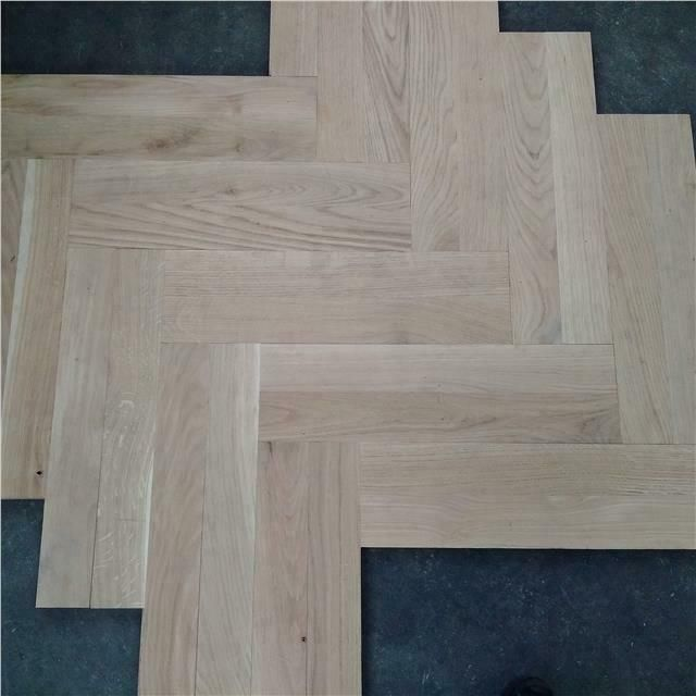 Sample Parquet Solid Oak Flooring 20 X 70 X 500 Unfinished