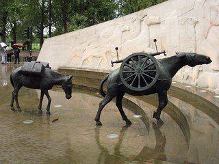 Мемориал «Животные на войне» (The Animals In War Memorial), Гайд-парк, Лондон, Великобритания