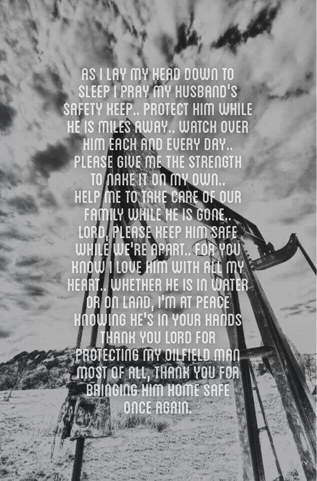 Oilfield prayer