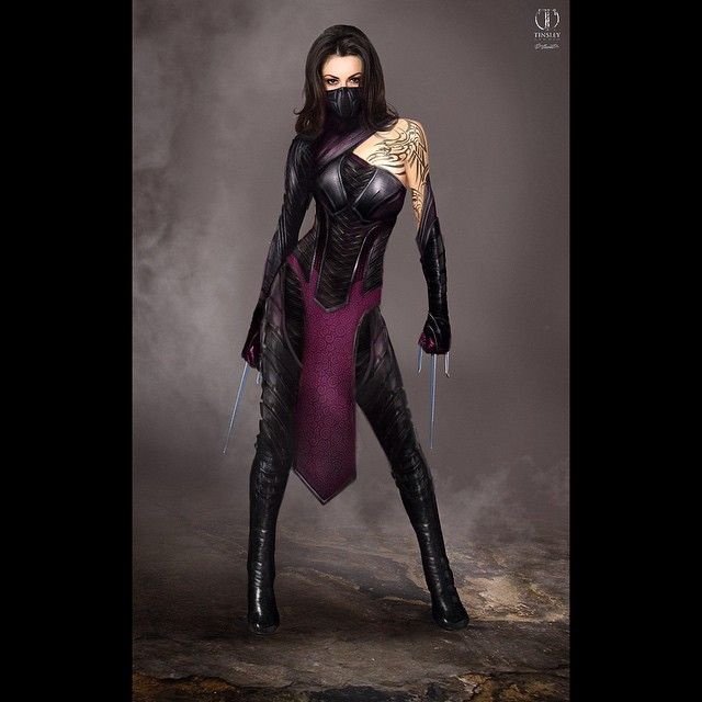 Character Design Mortal Kombat : Mileena concept art from cancelled mortal kombat movie