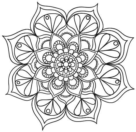 5395 Besten Mandala Amp Malvorlagen Bilder Auf Pinterest