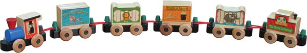 #Circus #RailwayBoxSet www.onlyamericantoys.com #Toys made in #USA