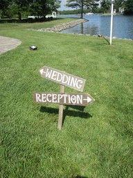 outside wedding idea