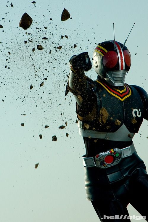 renkris: Black Rider Punch by ~hellsign
