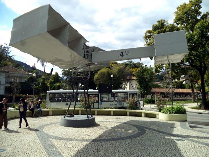 Praça 14-Bis, em Petrópolis