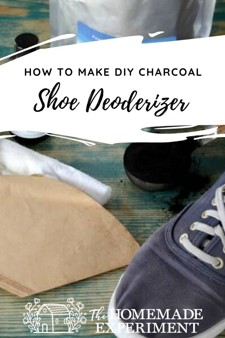 Diy Activated Charcoal Shoe Deodorizer Deodorize Shoes Diy Activated Charcoal Homemade Shoes